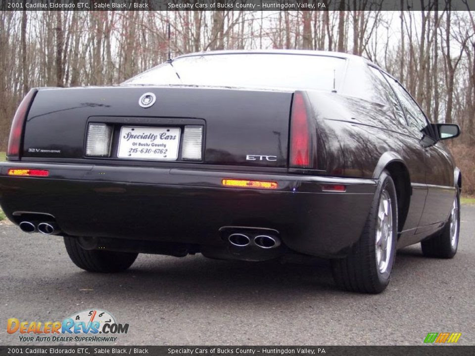 2001 Cadillac Eldorado ETC Sable Black / Black Photo #17 | DealerRevs ...