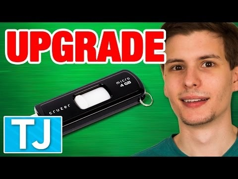 How to Upgrade Your USB Flash Drive Storage for Free