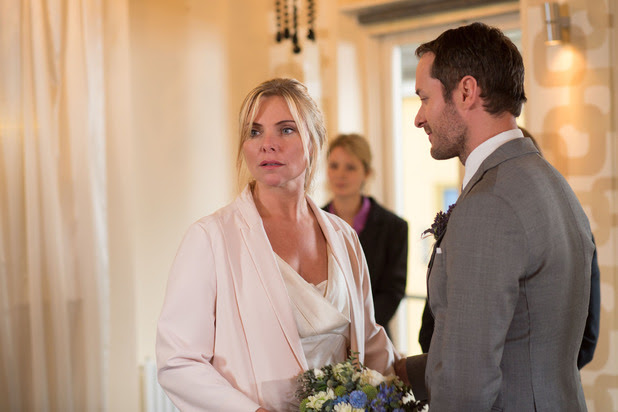First look at Ronnie and Charlie's wedding day
