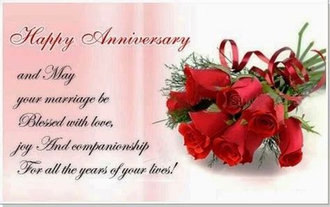 Happy Anniversary And May Your Marriage Be Blessed With
