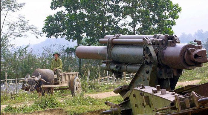 Một dấu tích còn lại của trận Ðiện Biên Phủ. (Hình: Getty Images)