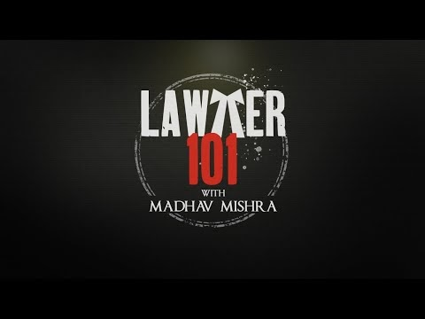 Lawyer 101 With Madhav Mishra | Hotstar Specials Criminal Justice Behind Closed Doors