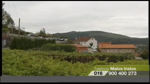 Concentracións de repulsa polo asasinato machista en Barro. VIDEO da TVG