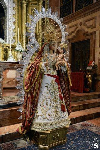 Resultado de imagen de Virgen del Rosario de Santo Domingo. Almería, octubre 2017