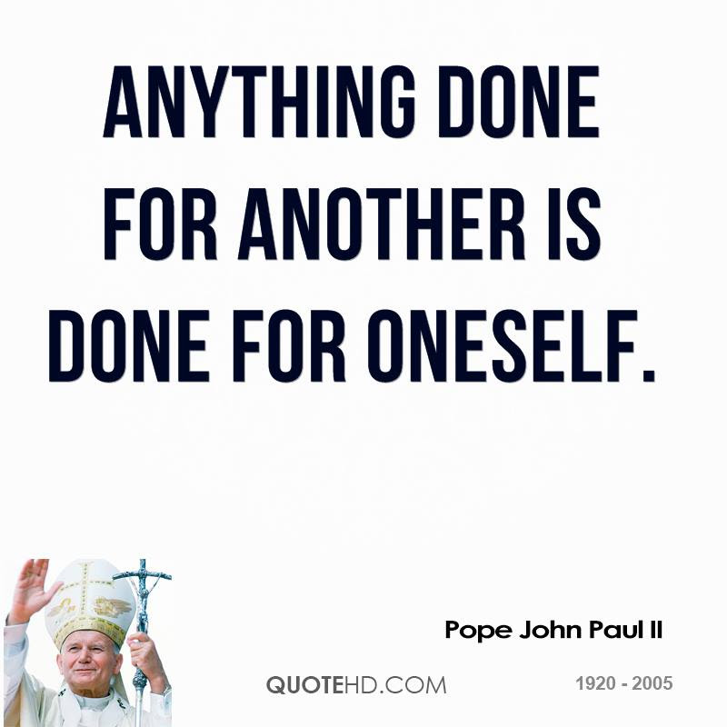 Pope John Paul Ii Quotes Quotehd