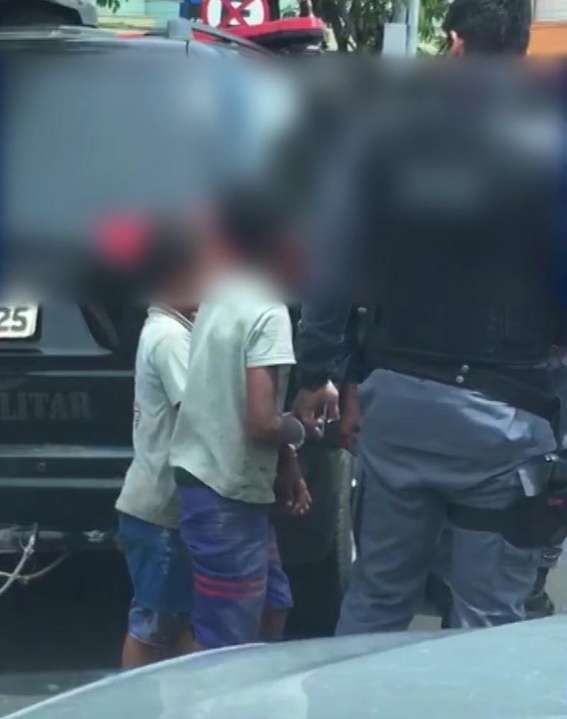Policiais que levaram crianças amarradas à delegacia são afastados no MA