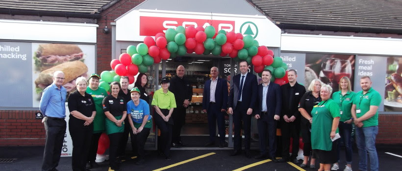 Blakemore Retail Launches New SPAR at Burntwood