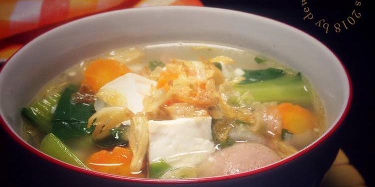 Resep Sup Tahu Campur Oleh Dewi Lina Faidah