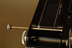 Exakta Varex IIa - Film cutter
