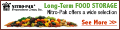 Nitro-Pak Ultimate Pak Freeze-Dried Food