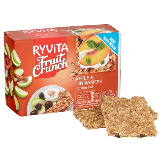 Ryvita Apple And Cinnamon Fruit 200G