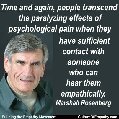 Culture Of Empathy Builder Marshall Rosenberg Quotes