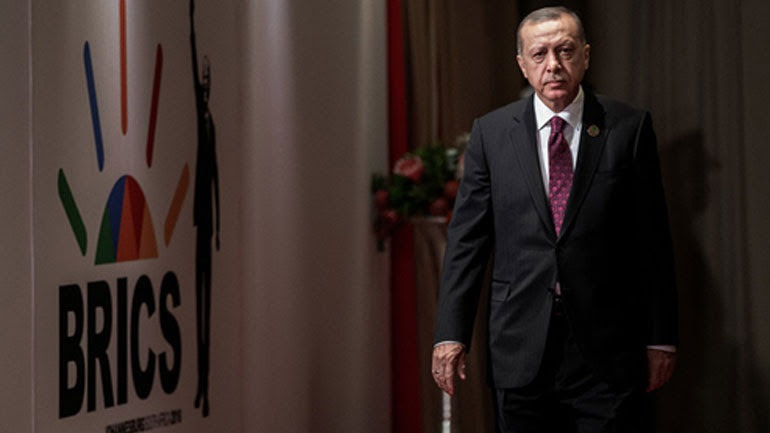 H Τουρκία επιθυμεί να ενταχθεί στους BRICS