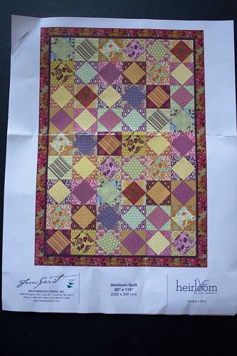 Heirloom kit pattern