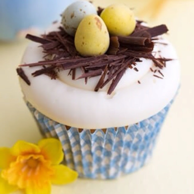 Easter Eggs cupcakes