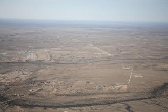 Cavern City Air Terminal aerial view