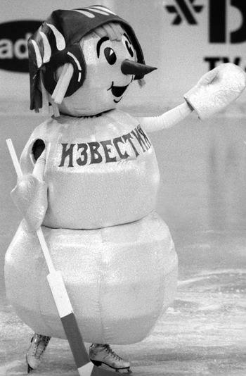 Izvestia snowman