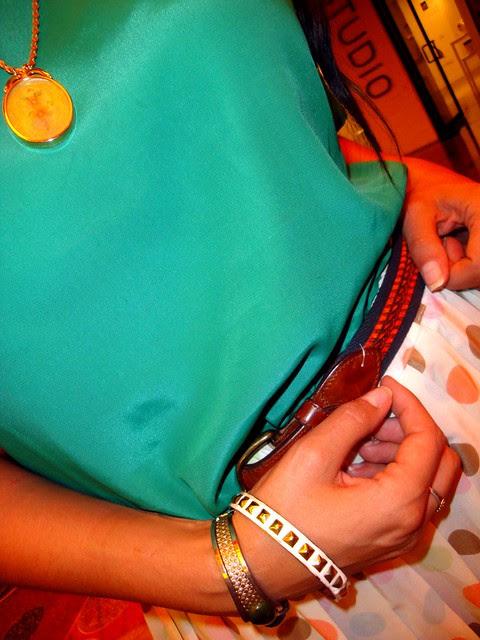 Belt Bracelets Thrifted Savers