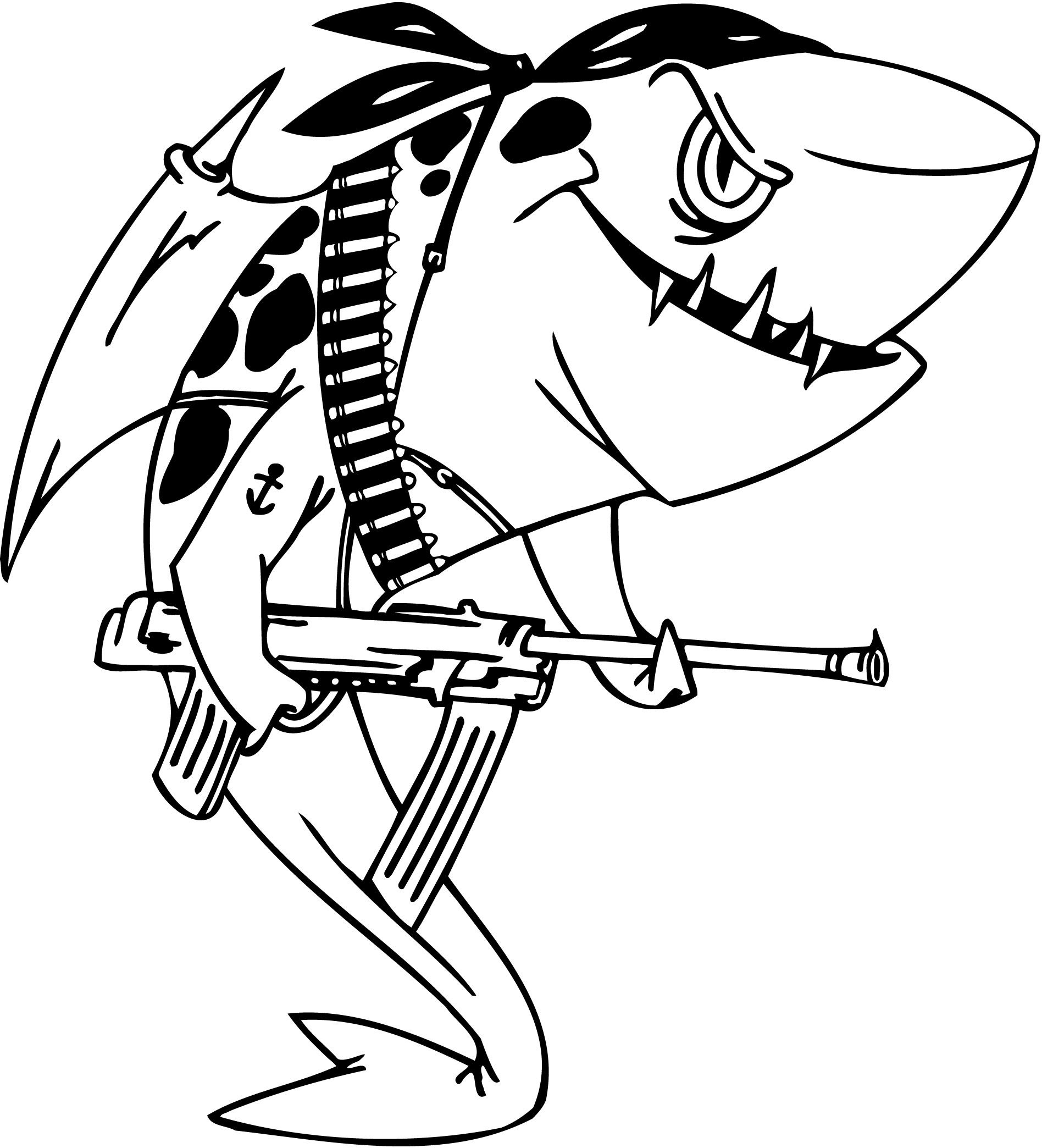 Baby Shark Coloring Pages at GetColorings.com   Free ...