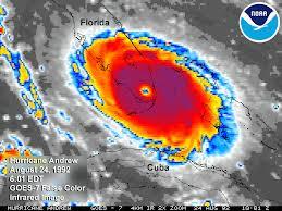 Hurricane Andrew IR
