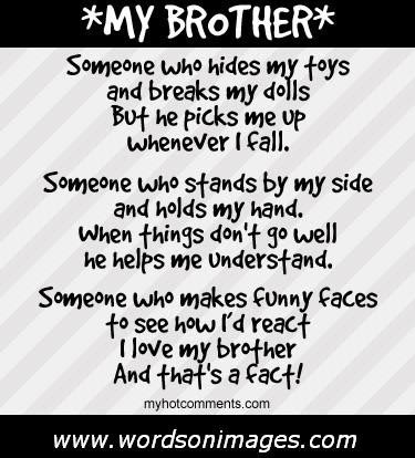 Quotes About Love My Brother 54 Quotes