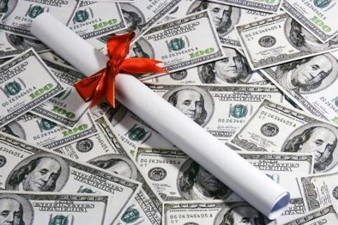 diploma dinheiro