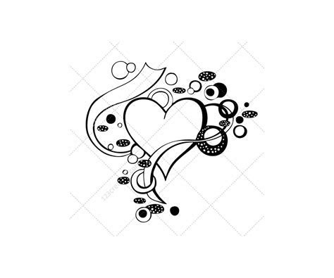 Heart vector pack (heart and flowers, wedding hearts