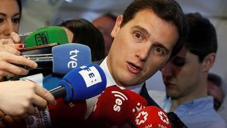 Albert Rivera, president de Ciutadans (EFE)