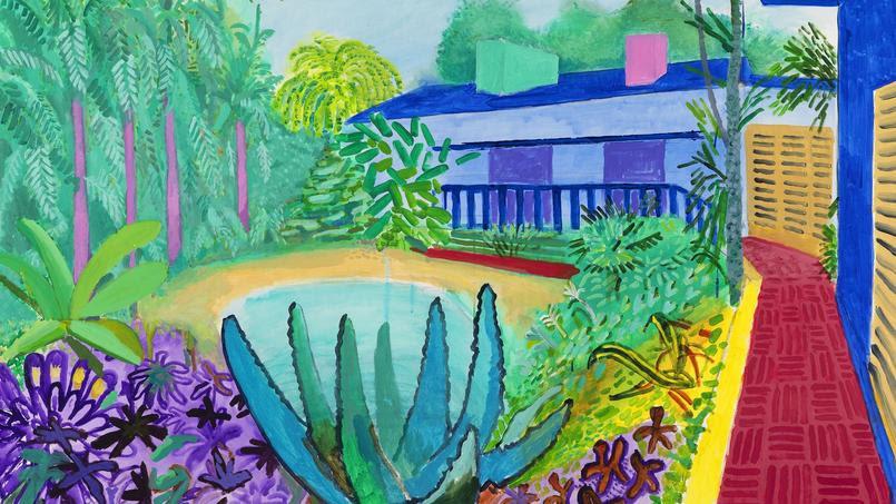 David Hockney, Garden, 2015.