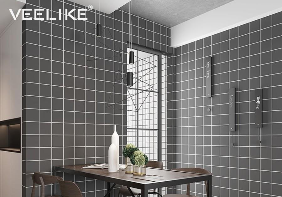 Beste kopen badkamer vinyl behang pvc moza iuml ek voor keuken