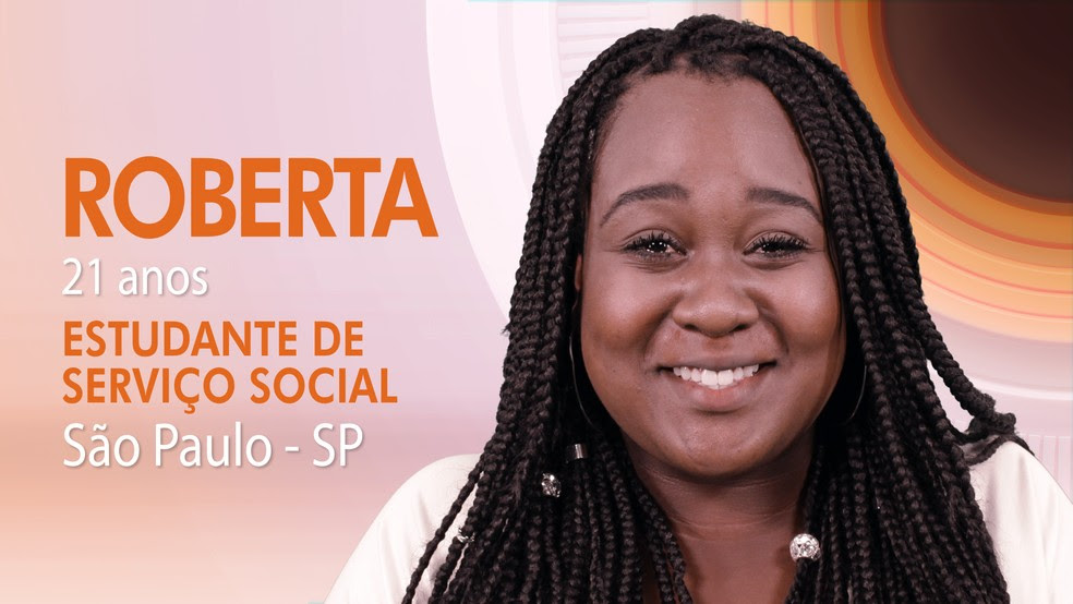 """Roberta, terceira participante do """"BBB17"""" (Foto: Globo/Divulgação)"""