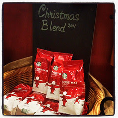 Starbucks Toffee Nut & Christmas Blend