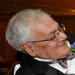 Representative Barney Frank, left, with his husband, Jim Ready, during their wedding reception in Newton, Mass.