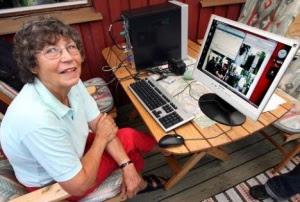 Sigbritt, Nenek Yang Mempunyai Koneksi Internet Tercepat Di Dunia 40 GB/S