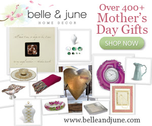 Take 10% off 400+ Mother's Day Gifts at www.belleandjune.com