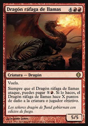 Dragón ráfaga de llamas