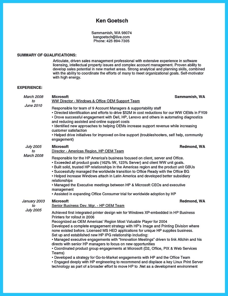 Business Development Manager Resume Example Best Resume Examples