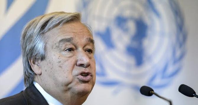 UN Secretary-General, António Guterres.