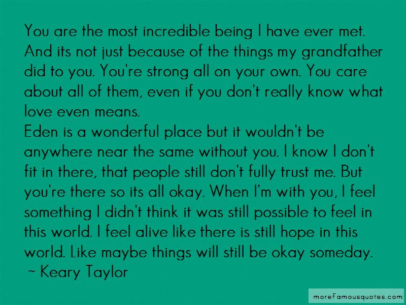 Im Not Okay Without You Quotes Top 31 Quotes About Im Not Okay