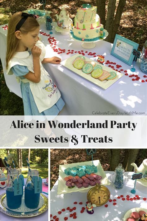 Alice in Wonderland Party Sweets & Treats   Celebrate