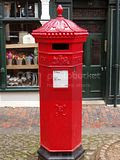 red,postbox,Victorian