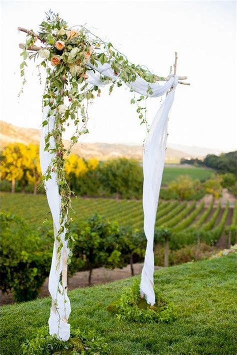 30 Natural Outdoor Vineyard Wedding Ideas   Deer Pearl Flowers