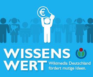 WissensWert – Wikimedia Deutschland fördert mutige Ideen