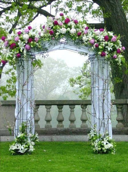 Altar/Arch Arrangements Chuppah Indoor Ceremony Outdoor