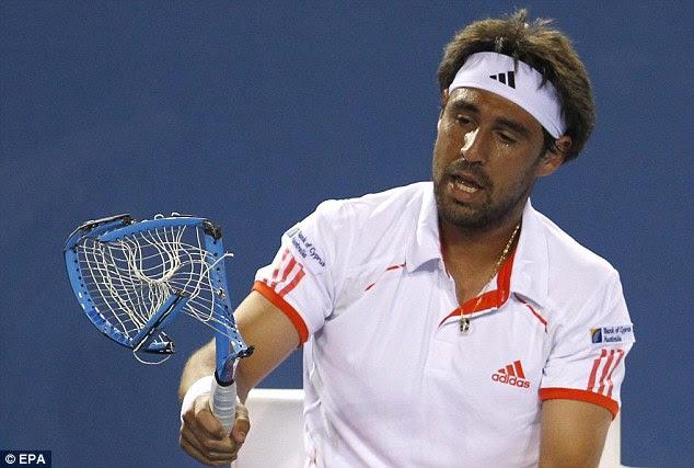 Image result for tennis match frustration