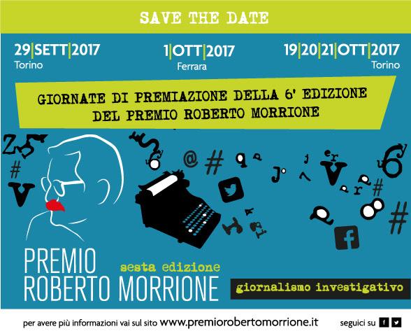 Save the date: ci vediamo a Torino e Ferrara per le giornate di premiazione 2017