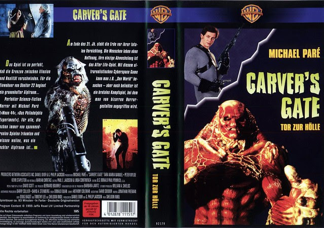 Carver's Gate (VHS Box Art)