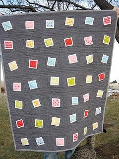 Baby quilt by Kersten