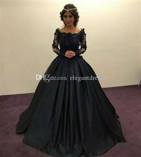 2018 Navy Blue Ball Gown Quinceanera Dresses Off Shoulder
