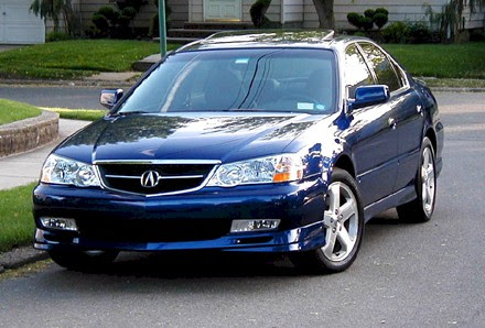 2002 Acura Type On Tl S W Navigation Pictures